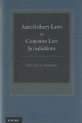 Cover of Anti-Bribery Laws in Common Law Jurisdictions