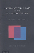 Cover of International Law in the U.S. Legal System