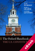 Cover of The Oxford Handbook of the U.S. Constitution (eBook)