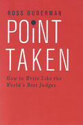 Cover of Point Taken: How to Write Like the World's Best Judges