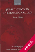 Cover of Jurisdiction in International Law (eBook)
