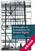 Cover of Philosophical Foundations of Human Rights (eBook)
