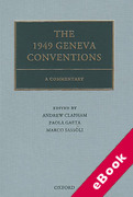 Cover of The 1949 Geneva Conventions: A Commentary (eBook)