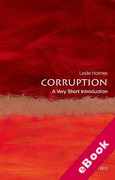 Cover of Corruption: A Very Short Introduction (eBook)