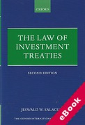 Cover of The Law of Investment Treaties (eBook)