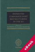 Cover of Expedited Corporate Debt Restructuring in the EU (eBook)