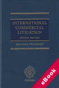 Cover of International Commercial Litigation (eBook)