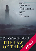 Cover of The Oxford Handbook of the Law of the Sea (eBook)