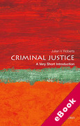 Cover of Criminal Justice: A Very Short Introduction (eBook)