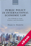 Cover of Public Policy in International Economic Law: The ICESCR in Trade, Finance, and Investment (eBook)