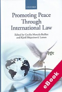 Cover of Promoting Peace Through International Law (eBook)