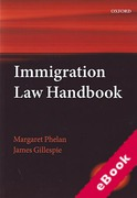 Cover of Immigration Law Handbook 2015 (eBook)