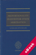 Cover of Proportionality in Investor-State Arbitration (eBook)