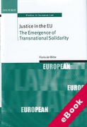 Cover of Justice in the EU: The Emergence of Transnational Solidarity (eBook)