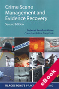 Cover of Crime Scene Management and Evidence Recovery (eBook)