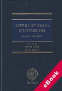 Cover of International Succession (eBook)
