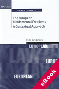 Cover of The European Fundamental Freedoms: A Contextual Approach (eBook)