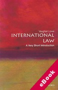 Cover of International Law: A Very Short Introduction (eBook)
