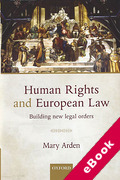 Cover of Human Rights and European Law: Building New Legal Orders (eBook)