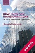 Cover of Tradition and Transformations: The Rise of German Constitutionalism (eBook)