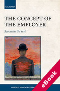 Cover of The Concept of the Employer (eBook)