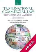 Cover of Transnational Commercial Law: Text, Cases and Materials (eBook)