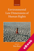 Cover of Environmental Law Dimensions of Human Rights (eBook)