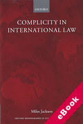 Cover of Complicity in International Law (eBook)