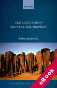 Cover of State Succession in Cultural Property (eBook)