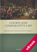 Cover of Courts and Comparative Law (eBook)