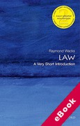 Cover of Law: A Very Short Introduction (eBook)