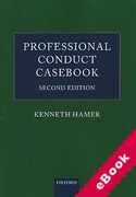 Cover of Professional Conduct Casebook (eBook)