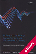 Cover of Minority Accommodation Through Territorial and Non-Territorial Autonomy (eBook)