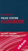 Cover of Blackstone's Police Station Handbook (eBook)