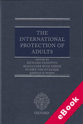 Cover of International Protection of Adults (eBook)