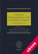 Cover of Capacity Mechanisms in EU Energy Markets: Law, Policy, and Economics (eBook)