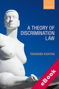 Cover of A Theory of Discrimination Law (eBook)