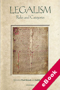 Cover of Legalism: Rules and Categories (eBook)