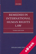 Cover of Remedies in International Human Rights Law (eBook)