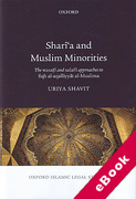 Cover of Shari'a and Muslim Minorities: The Wasati and Salafi Approaches to Fiqh al-Aqalliyyat al-Muslima (eBook)