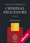Cover of A Practical Approach to Criminal Procedure (eBook)