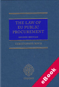 Cover of The Law of EU Public Procurement (eBook)