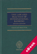 Cover of Law and Practice of International Banking (eBook)