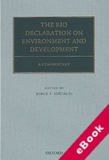 Cover of The Rio Declaration on Environment and Development: A Commentary (eBook)
