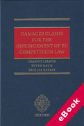 Cover of Damages Claims for the Infringement of EU Competition Law (eBook)