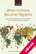 Cover of When Humans Become Migrants: Study of the European Court of Human Rights With an Inter-American Counterpoint (eBook)