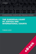 Cover of The European Court of Justice and International Courts (eBook)