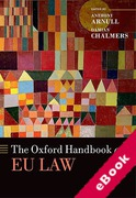 Cover of The Oxford Handbook of EU Law (eBook)