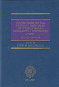 Cover of Commentary on the UNIDROIT Principles of International Commercial Contracts (PICC)