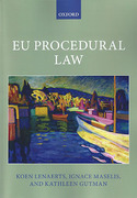 Cover of EU Procedural Law